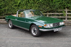 Yellow 1972 Triumph Stag For Sale | Car And Classic