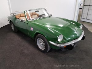 Triumph Spitfire 1500 1980  For Sale by Auction