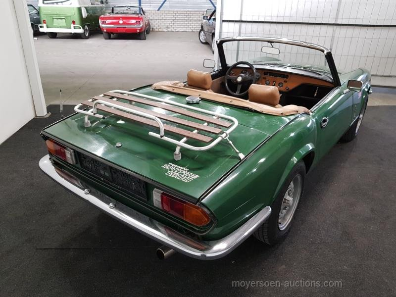 Triumph Spitfire 1500 1980  For Sale by Auction (picture 2 of 6)