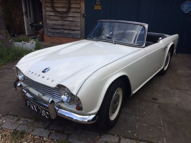 1965 TR4 - UK RHD Last owner for 50 years SOLD (picture 1 of 6)