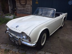 1965 TR4 - UK RHD Last owner for 50 years For Sale