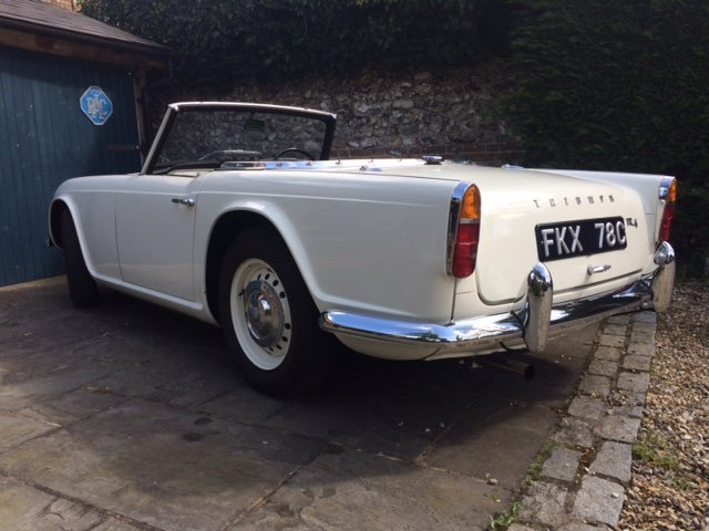 1965 TR4 - UK RHD Last owner for 50 years SOLD (picture 3 of 6)