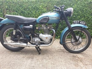 Triumph T100 all alloy 1955.