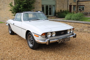 1972 TRIUMPH STAG MANUAL For Sale