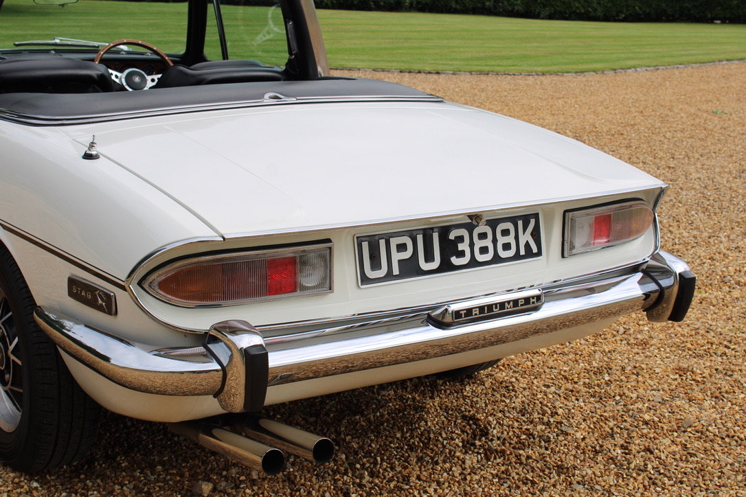 1972 TRIUMPH STAG MANUAL - £19,950 For Sale (picture 3 of 12)