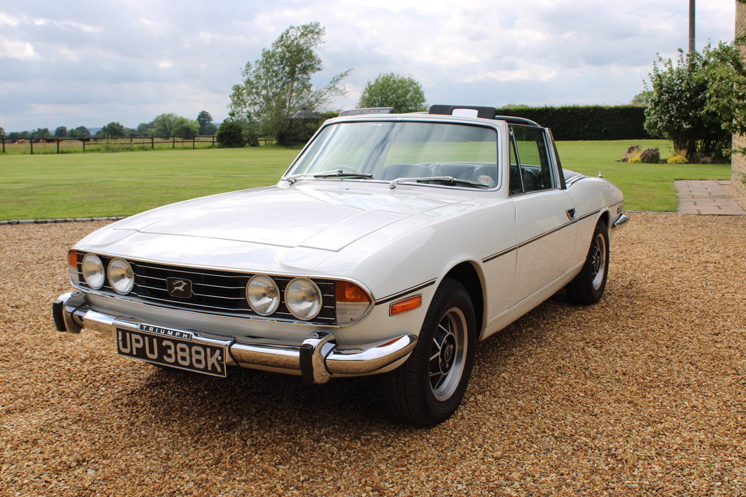 1972 TRIUMPH STAG MANUAL - £19,950 For Sale (picture 6 of 12)