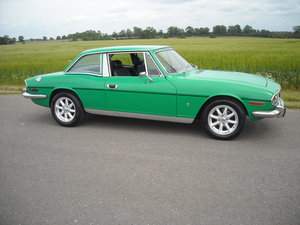 1974 TRIUMPH STAG MK2 AUTO IN STUNNING JAVA GREEN NOW SOLD For Sale