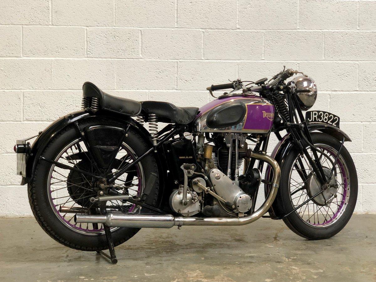 1935 Vintage Triumph 5/5 500cc OHV Twin Port SOLD (picture 5 of 6)