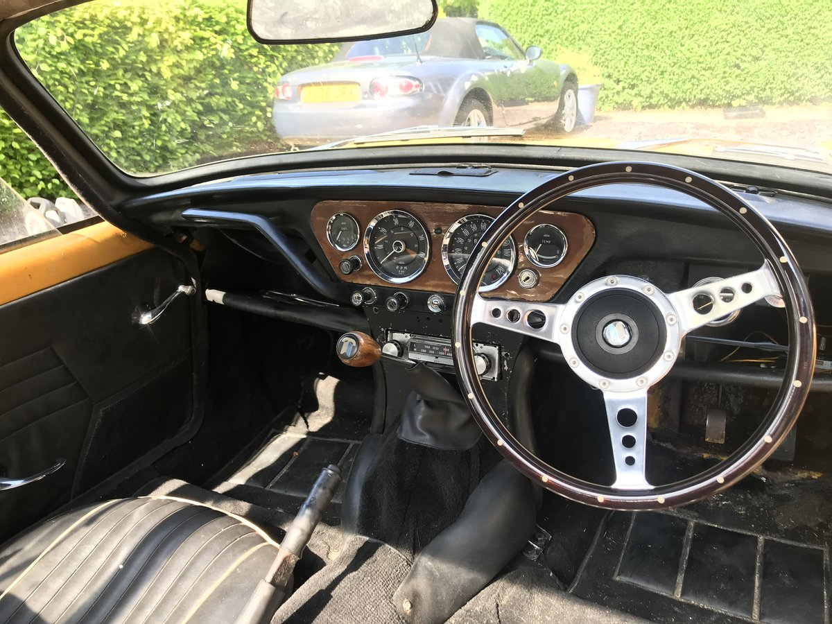 1970 Spitfire mk3 - overdrive For Sale (picture 2 of 6)