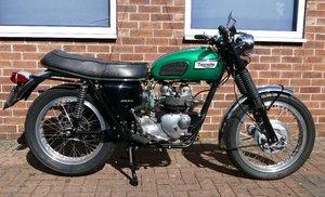 1969 Triumph Trophy T100C, 500 cc.