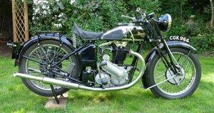 1934 Triumph 6/1, 650 cc. For Sale by Auction