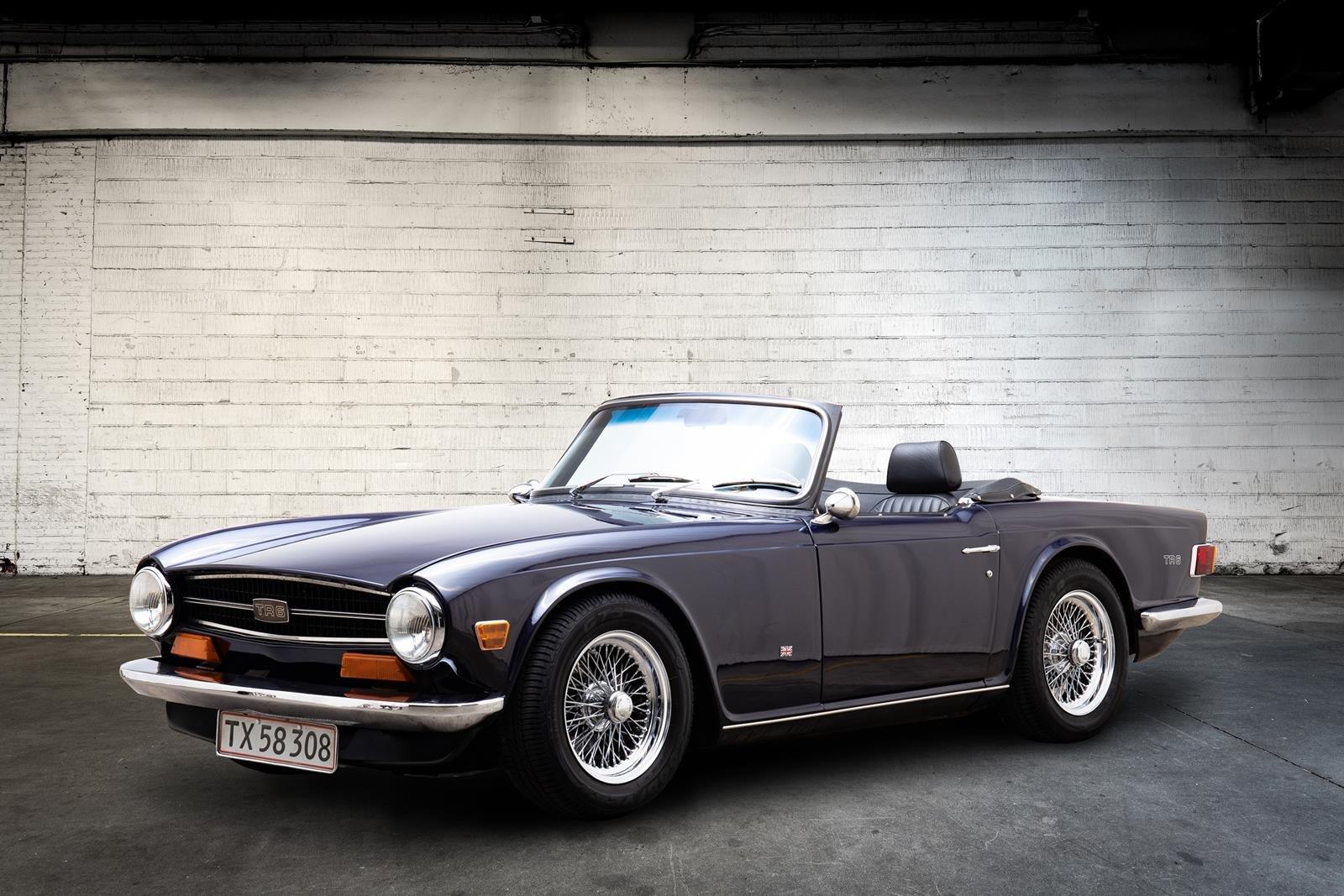 1974 Triumph TR6 SOLD (picture 1 of 6)