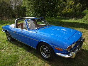 1974 Triumph Stag Mk 2 Manual overdrive. For Sale