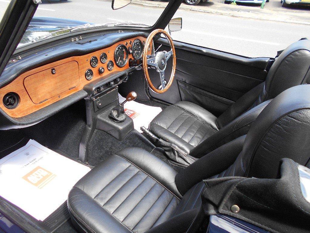 1970 Triumph TR6 RHD Conversion  SOLD (picture 4 of 4)