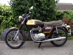 1978 Triumph Bonneville Historicaly Registered  For Sale