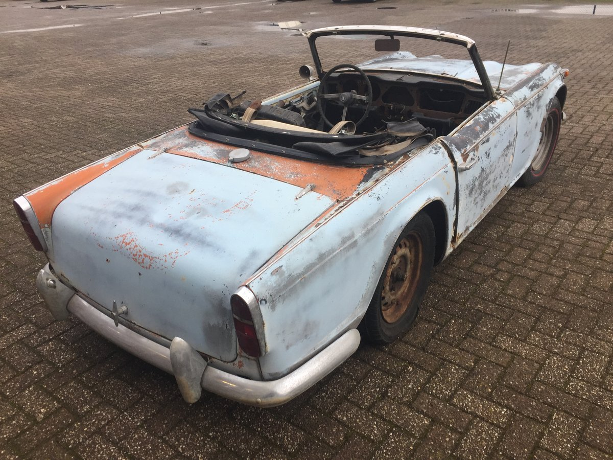1967 Triumph TR4A for restoration   LHD solid axle model SOLD (picture 3 of 6)