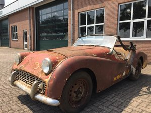 1960 Triumph TR3A for restoration For Sale