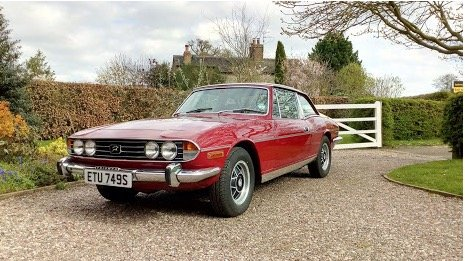 1978 Triumph Stag Mk 2 For Sale