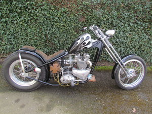 1959 Custom Triumph Chopper For Sale