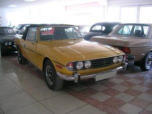 1976 Triumph Stag 3 Litre V8 Convertible Historic Vehicle For Sale
