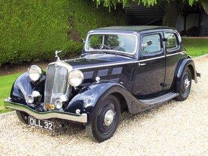 1937 Triumph 14/60 Vitesse For Sale