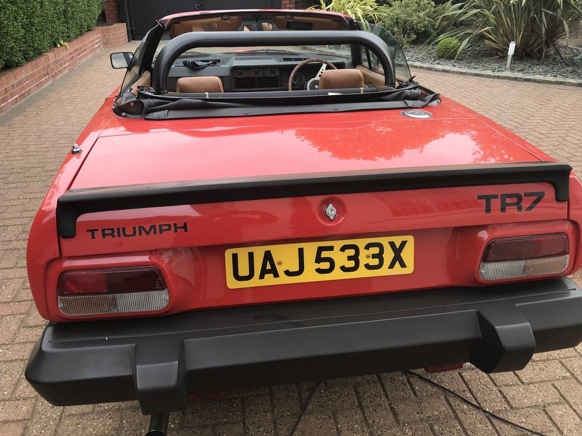 1982 Triumph TR7 Convertible For Sale (picture 3 of 6)