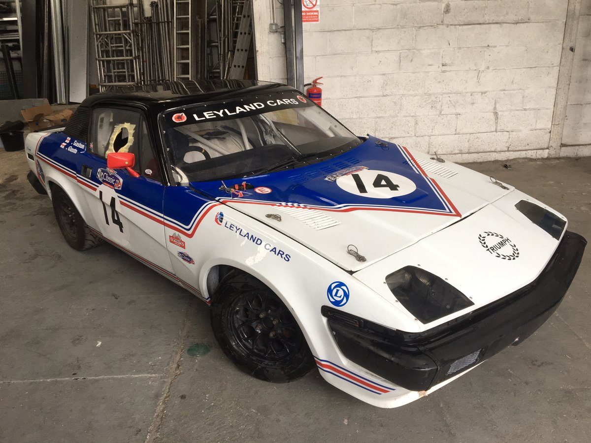 Triumph TR7 1977 Race / Rally car For Sale (picture 1 of 6)