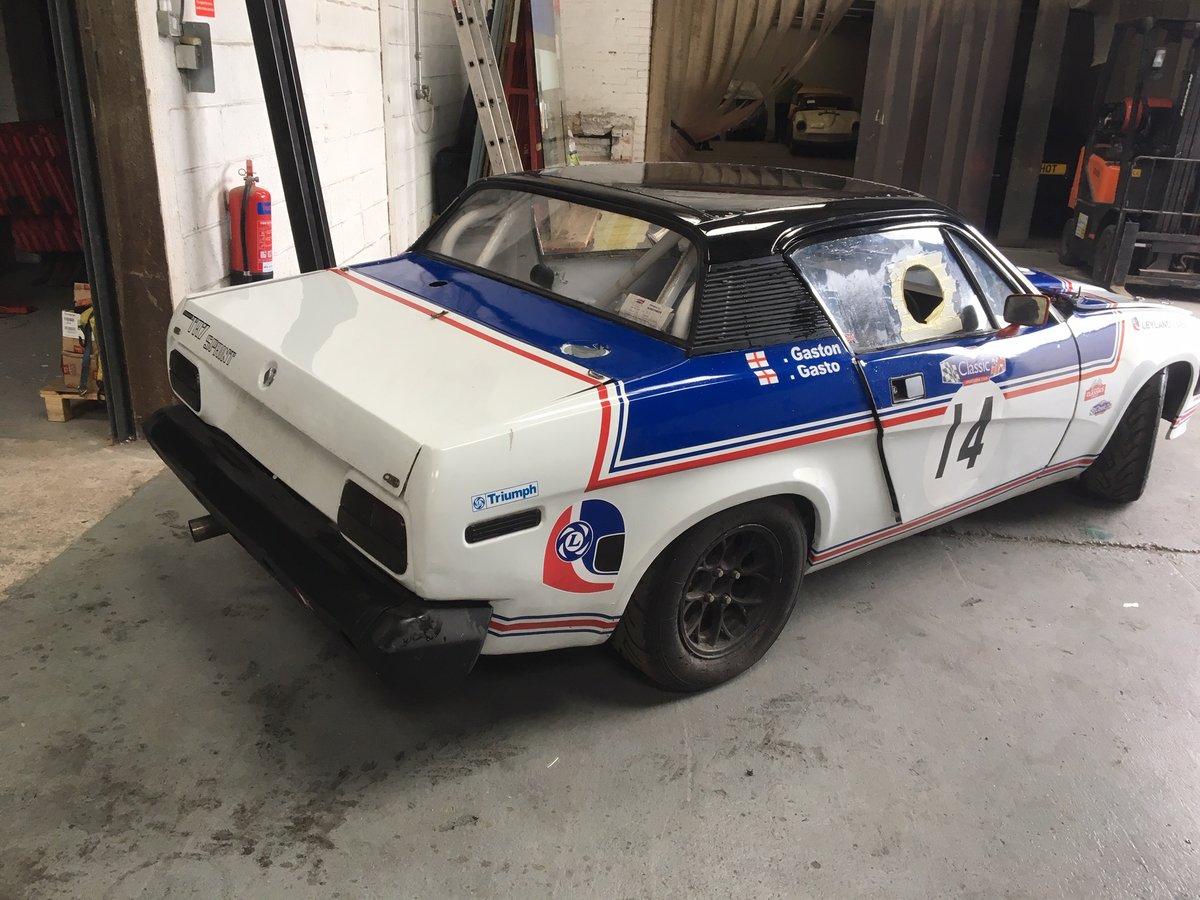 Triumph TR7 1977 Race / Rally car For Sale (picture 2 of 6)