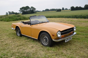 1970 Triumph TR6 for sale at EAMA Auction 20/7 For Sale by Auction