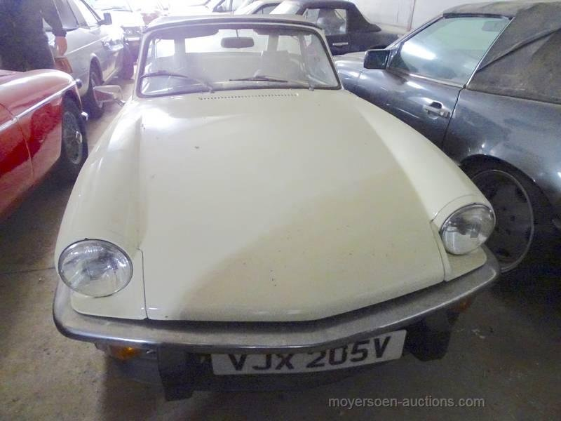1979 TRIUMPH Spitfire (rhd)  For Sale by Auction (picture 1 of 6)