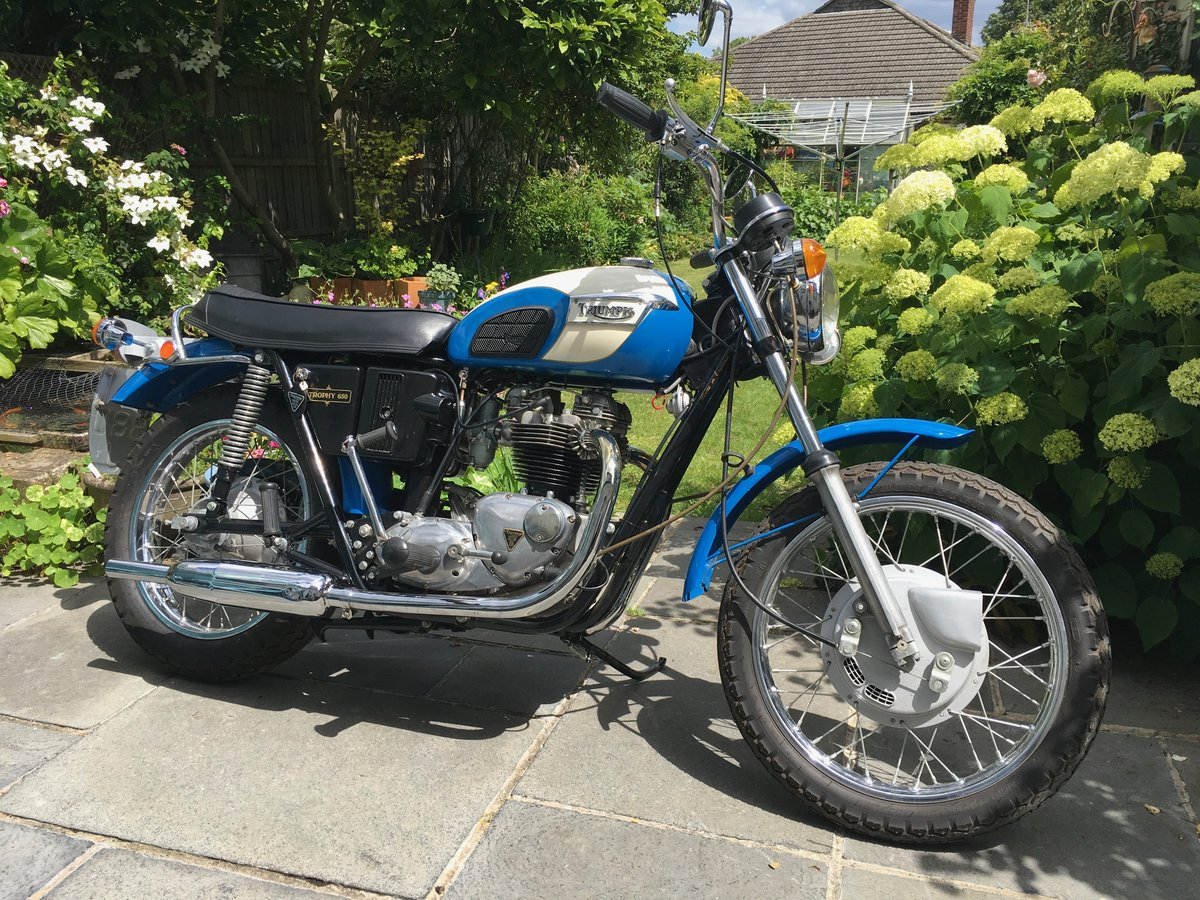 1971 Triumph Trophy 650cc O.I.F. For Sale (picture 1 of 6)