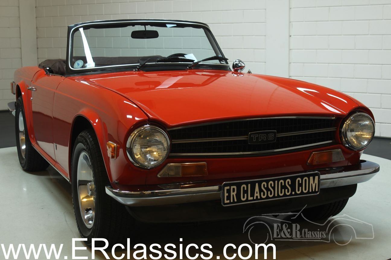 Triumph TR6 Cabriolet 1974 Overdrive For Sale (picture 1 of 6)
