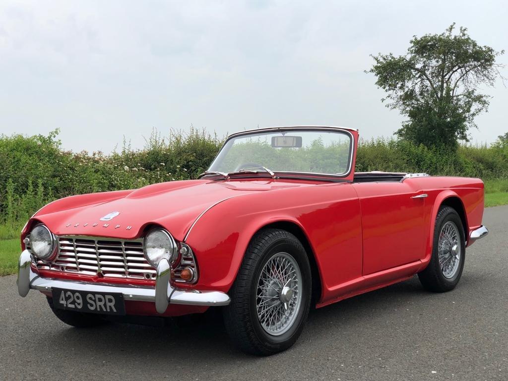 1963 Triumph TR4 SOLD (picture 1 of 6)