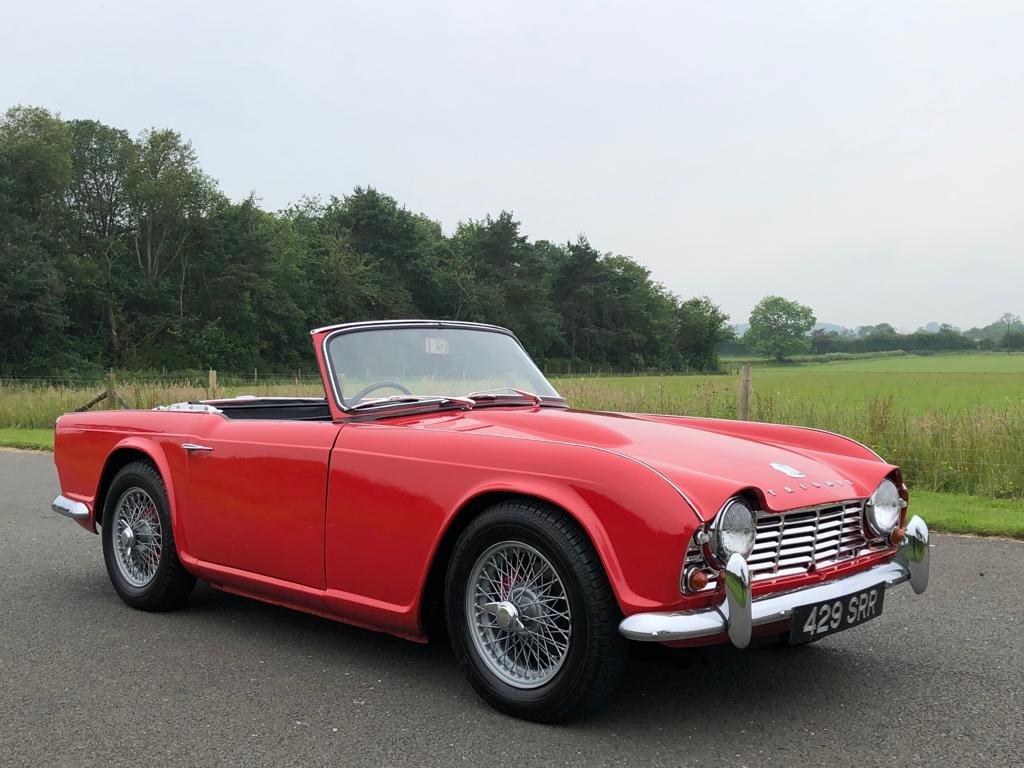 1963 Triumph TR4 SOLD (picture 3 of 6)
