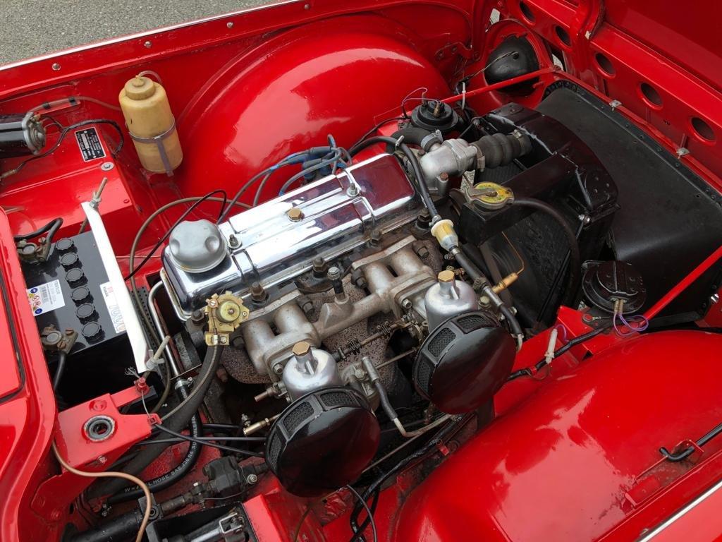 1963 Triumph TR4 SOLD (picture 6 of 6)