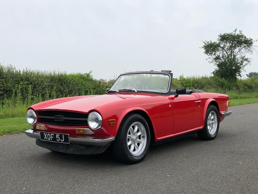 1971 Triumph TR6 150 BHP Manual Overdrive SOLD (picture 1 of 6)