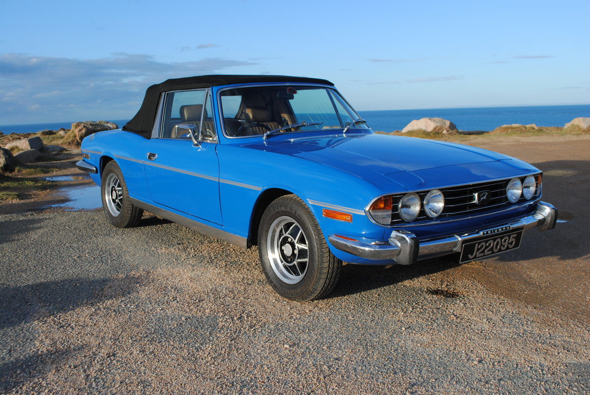 1975 Triumph Stag from Jersey Classic Hire.com For Hire (picture 1 of 6)
