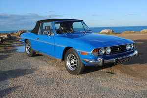 1975 Triumph Stag from Jersey Classic Hire.com For Hire