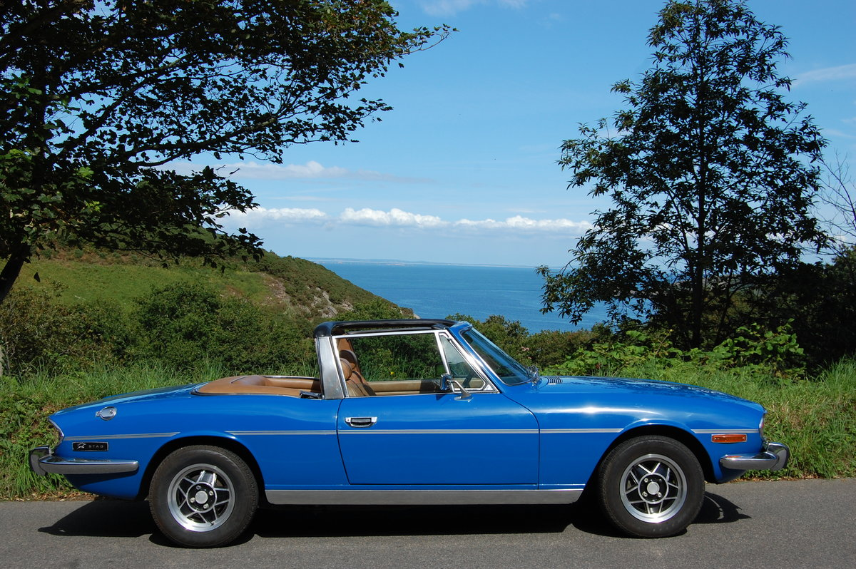 1975 Triumph Stag from Jersey Classic Hire.com For Hire (picture 4 of 6)