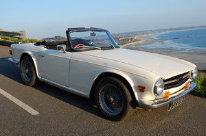 1974 Triumph TR6 from Jersey Classic Hire.Com
