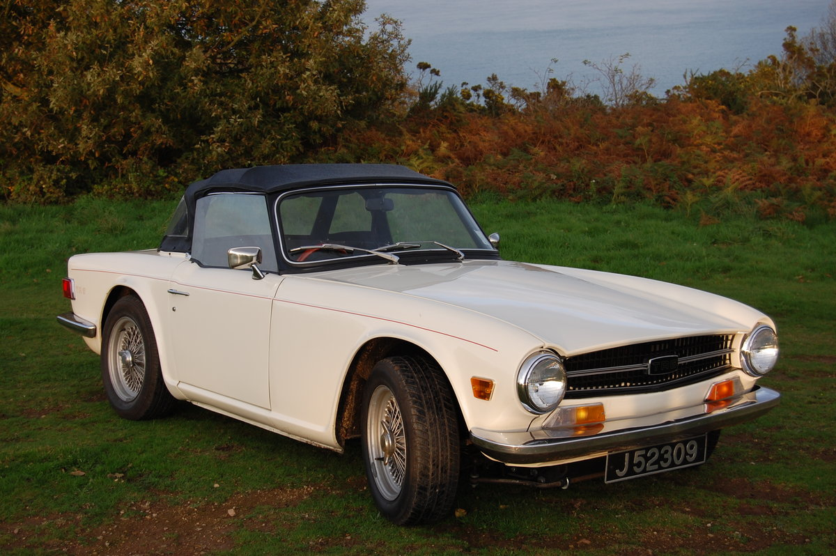 1974 Triumph TR6 from Jersey Classic Hire.Com For Hire (picture 2 of 6)