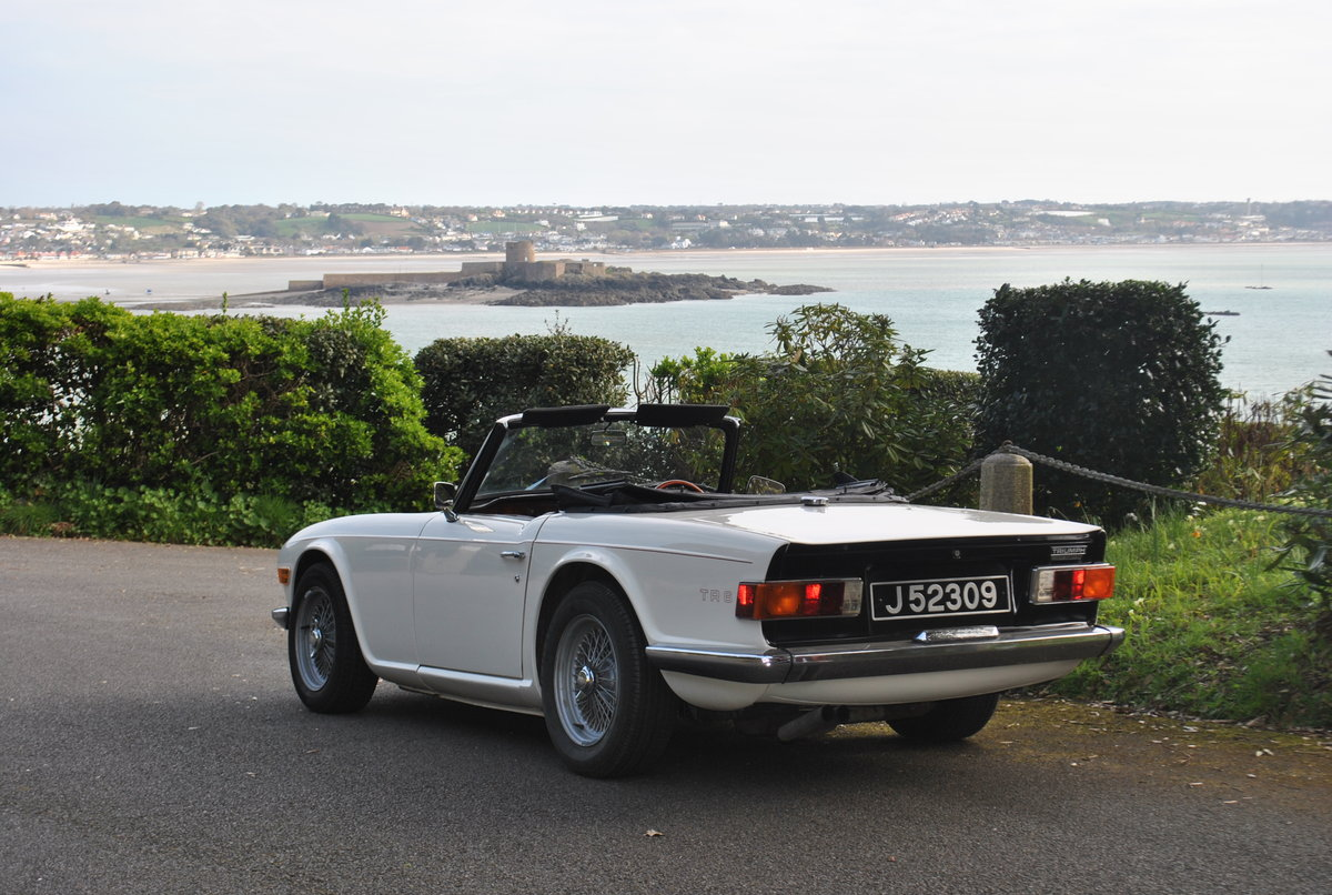 1974 Triumph TR6 from Jersey Classic Hire.Com For Hire (picture 4 of 6)
