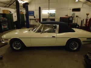 1972 Triumph Stag MK1 Manual Overdrive For Sale