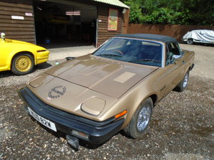 1980 Triumph TR7 2.0 litre 5 speed convertible For Sale