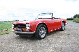 1971 TRIUMPH TR6 150 BHP MODEL WITH OVERDRIVE SOLD