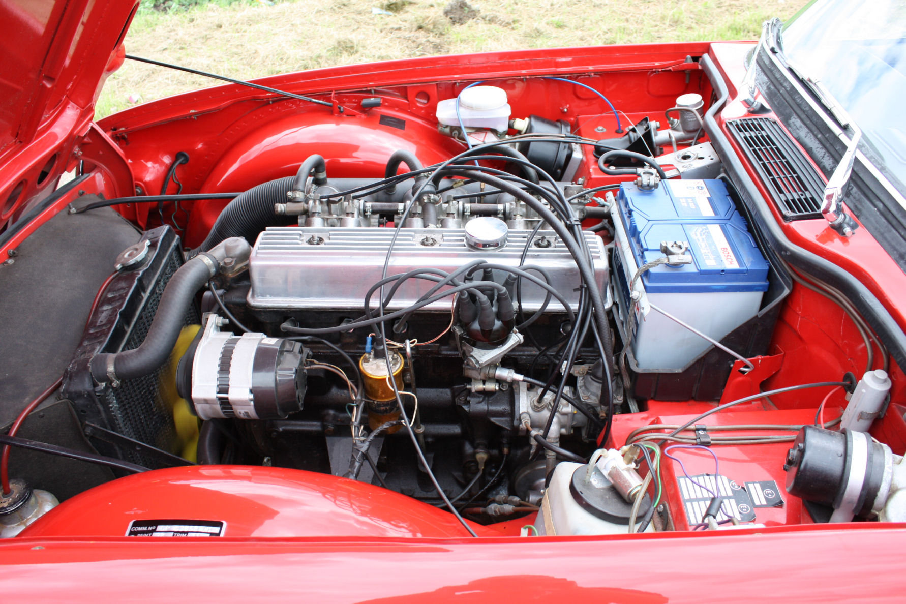 1971 TRIUMPH TR6 150 BHP MODEL WITH OVERDRIVE SOLD (picture 3 of 6)
