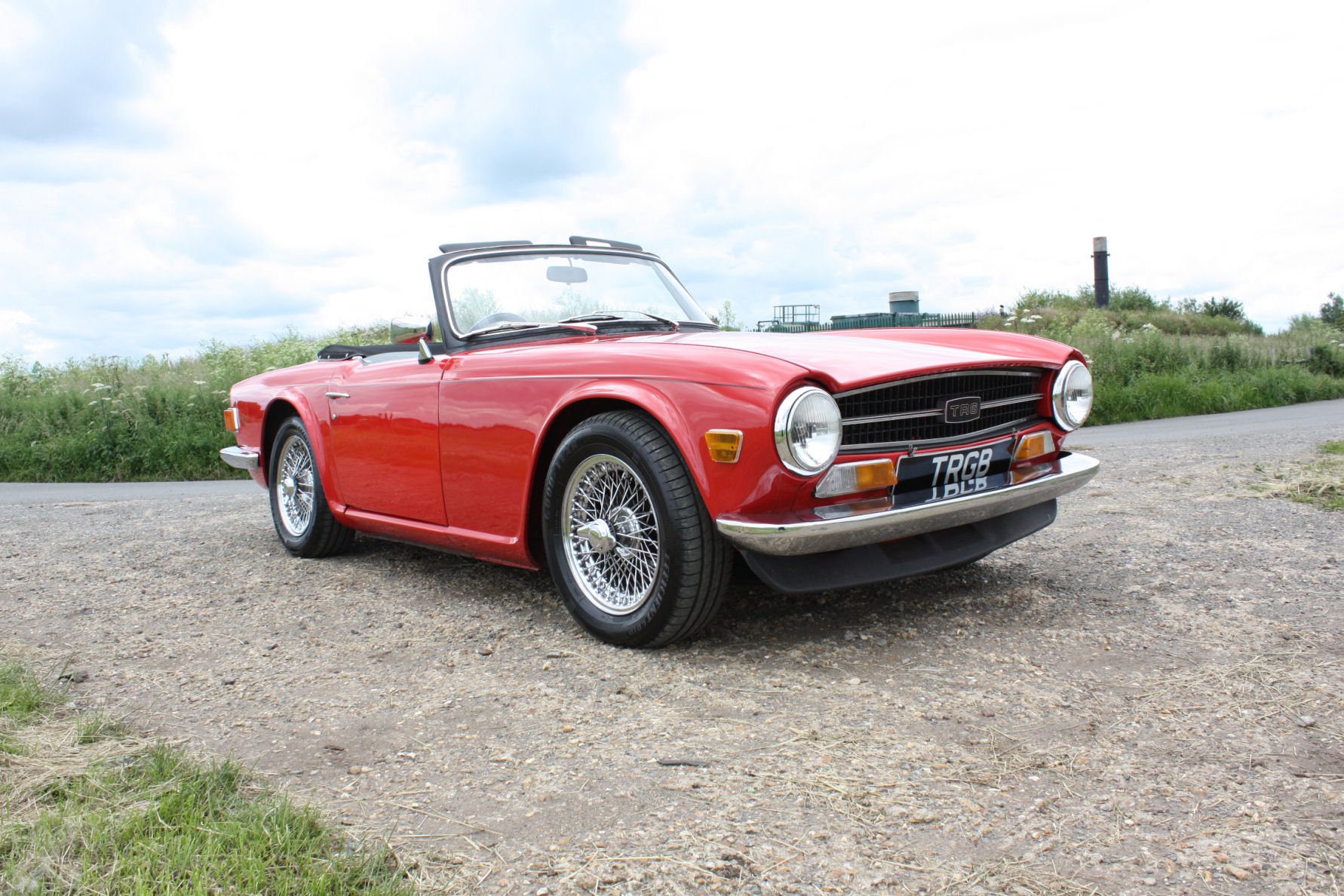 1971 TRIUMPH TR6 150 BHP MODEL WITH OVERDRIVE SOLD (picture 6 of 6)