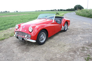 1959 TR3A ORIGINAL UK CAR SOLD