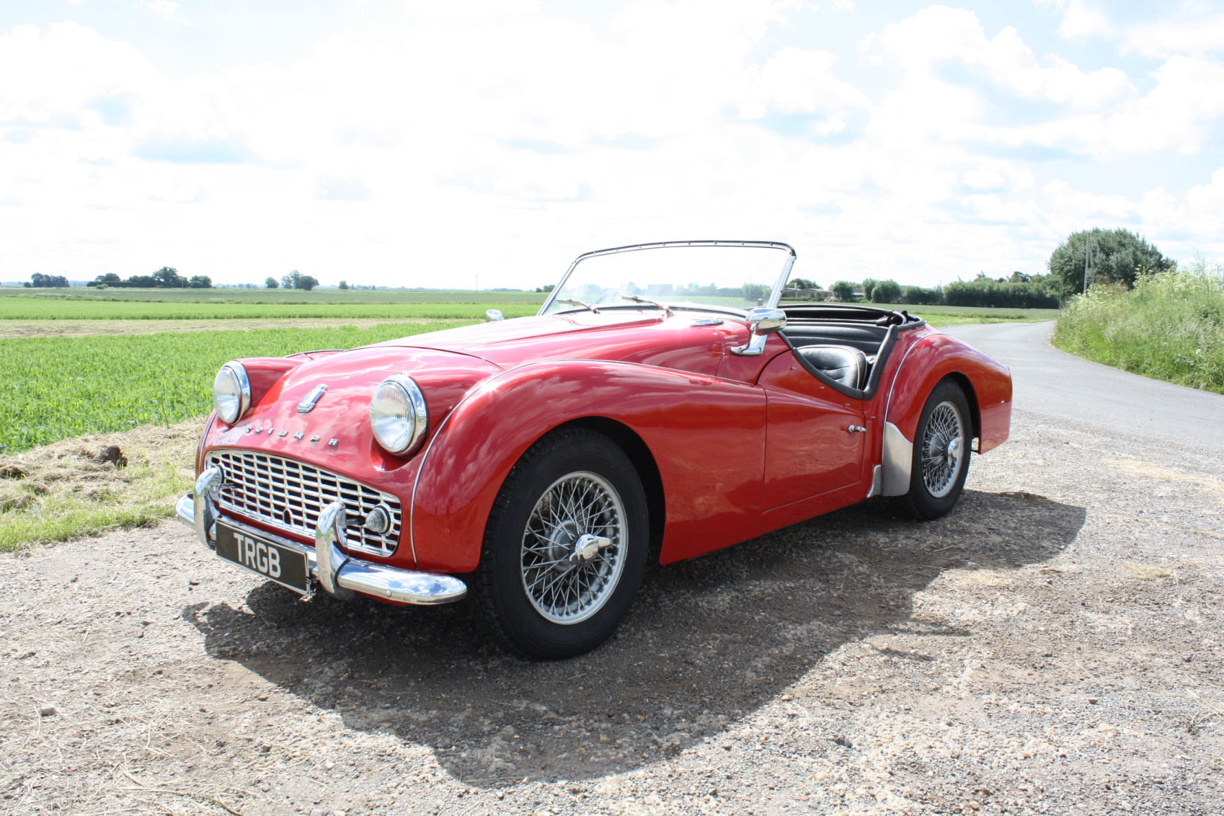 1960 TR3A IN EXCELLENT CONDITION WITH OVERDRIVE For Sale (picture 1 of 6)