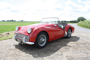 1960 TR3A IN EXCELLENT CONDITION WITH OVERDRIVE For Sale